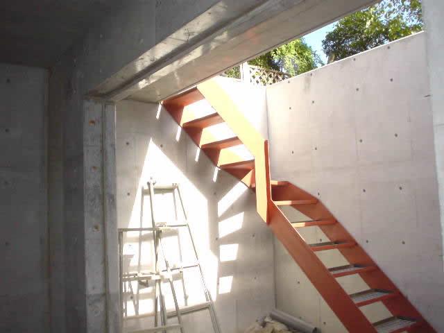 """階段のササラプレート"""""""