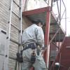 実況!アパート専用鉄骨階段工事