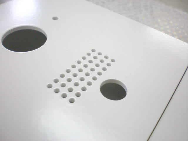 インターホンボックスのためのレーザーカット