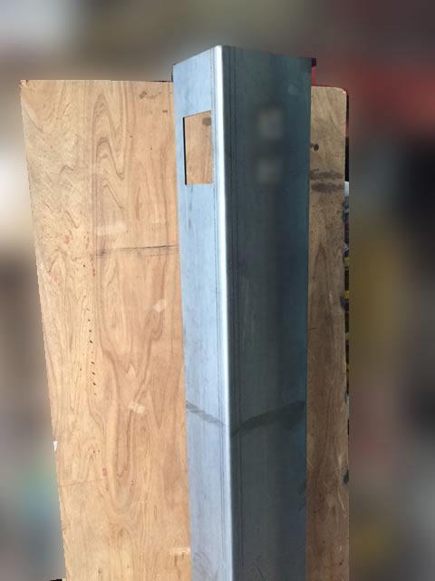 コルテン鋼の曲げ加工