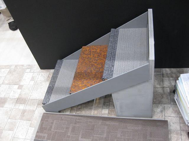 タキステップのプレゼンテーション階段