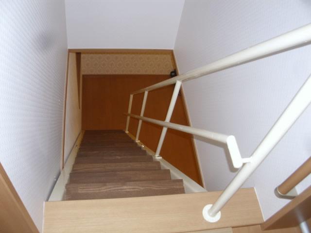 後付けの室内鉄骨階段