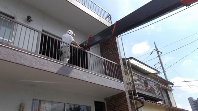 内装リフォームで階段工事