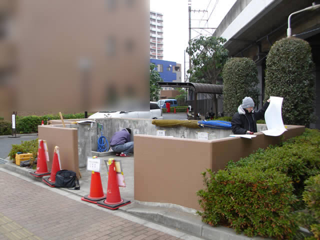 共用ゴミステーション改築の準備調査